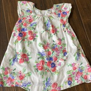 Old Navy baby girls floral dress size 12-18 months